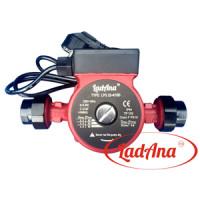 Насос циркуляционный с мокрым ротором LRS 25-6/180 LadAna, кабель, евровилка, комплект присоединителей