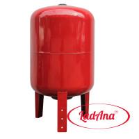 Гидроаккумулятор 50 л вертикальный LadAna (фланец из стали повышенной прочности)