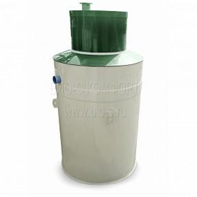 Автономная канализация БИО-С Комфорт 7 c самотечным водоотведением